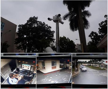 Lắp đặt camera bệnh viên đa khoa Đông Anh