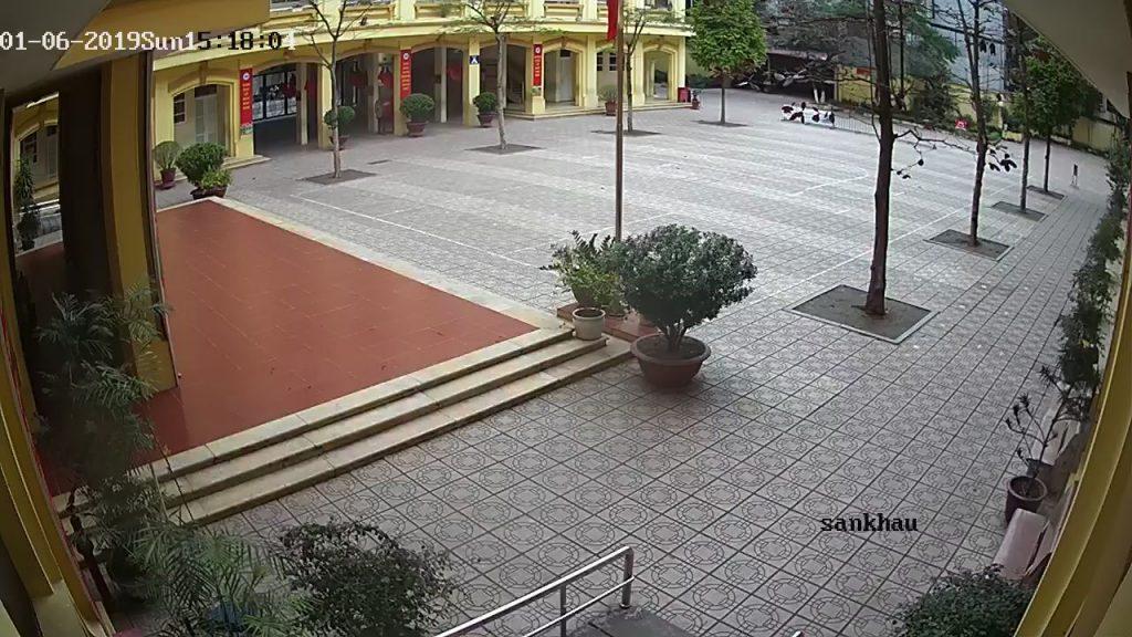 hệ thống camera tại trường Nguyễn Trung Trực