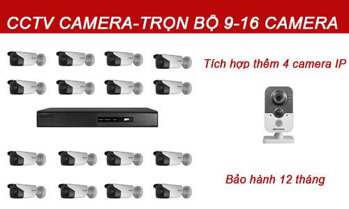 Bộ camera quan sát 9-16 mắt