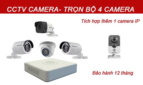 Bộ camera quan sát 1-4 mắt