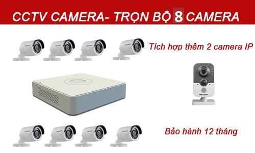 Bộ camera quan sát 5-8 mắt