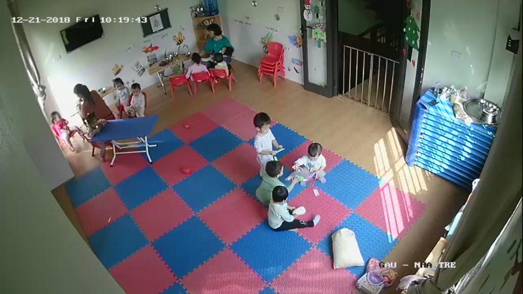 lắp camera cho nhà trẻ