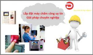 Lắp đặt máy chấm công tại Hà Nội