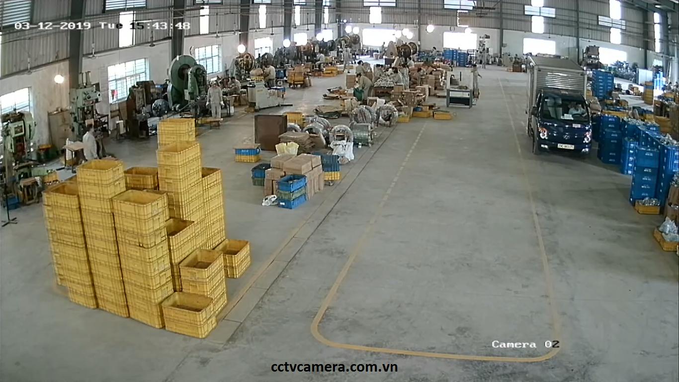 Camera khu vực nhà xưởng
