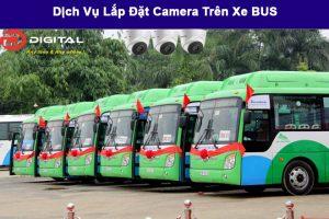 Lắp đặt camera trên xe Bus