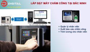 Lắp đặt máy chấm công tại Bắc Ninh