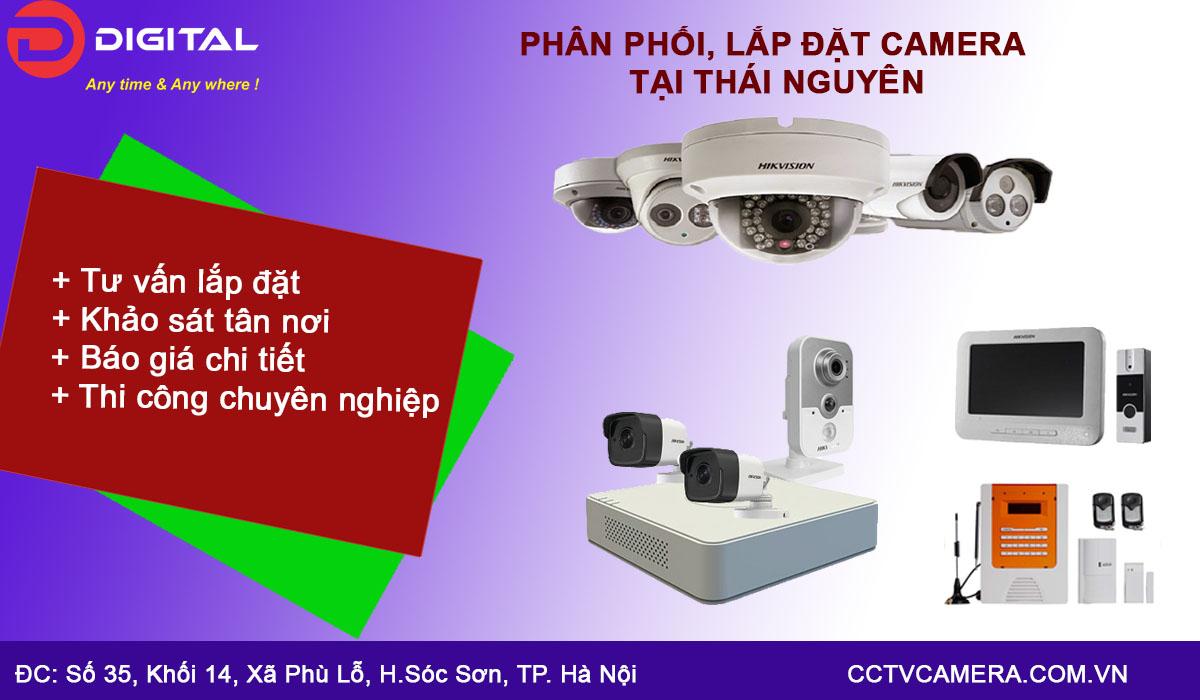 Lắp đặt camera tại Thái Nguyên