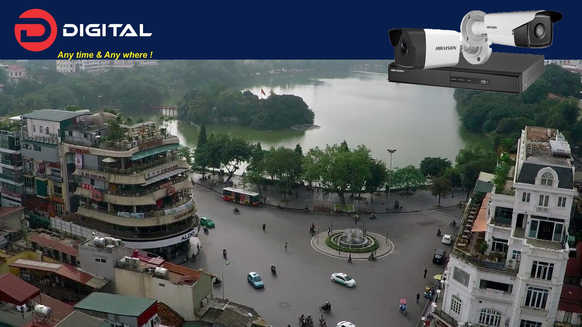 Lắp đặt camera tại Quận Hoàn Kiếm