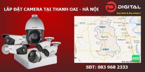 Lắp đặt camera tại Thanh Oai