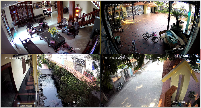 Lắp đặt camera giám sát gia đình