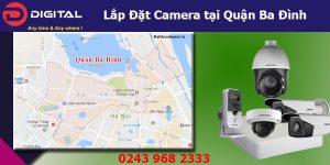 Cung cấp, lắp đặt camera tại Ba Đình, Hà Nội