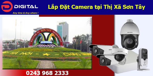 Lắp đặt camera tại Sơn Tây
