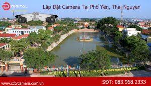 Lắp đặt camera tại Phổ Yên, Thái Nguyên
