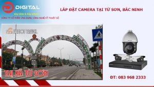 Dịch vụ lắp đặt camera tại Từ Sơn, Bắc Ninh