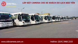 Lắp đặt camera trên xe khách du lịch Bảo Yến