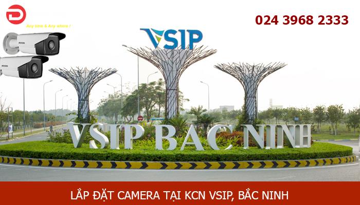 Lắp đặt camera tại Khu Công Nghiệp VSIP