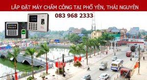 Lắp đặt máy chấm công tại Phổ Yên