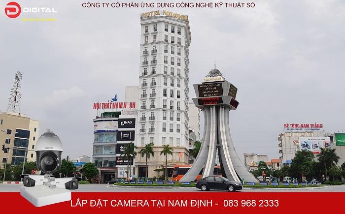 Dịch vụ sửa chữa, lắp đặt camera tại Nam Định