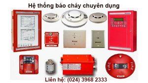 Hệ thống báo cháy chuyên nghiêp