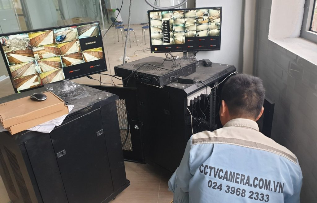 Lắp đặt camera tại cho CiBon VIệt Nam
