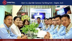 Lắp đặt camera tại Đông Anh - Digital.jsc