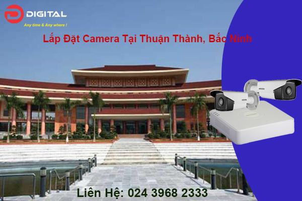 Lắp đặt camera tại thuận thành, Bắc Ninh