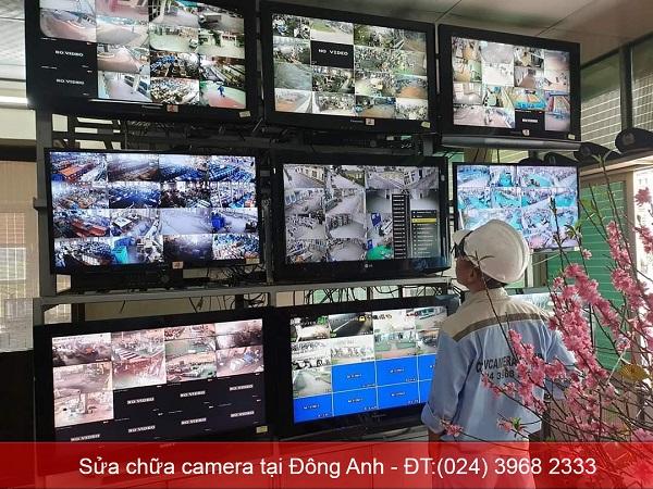 Sửa chữa camera tại Đông Anh